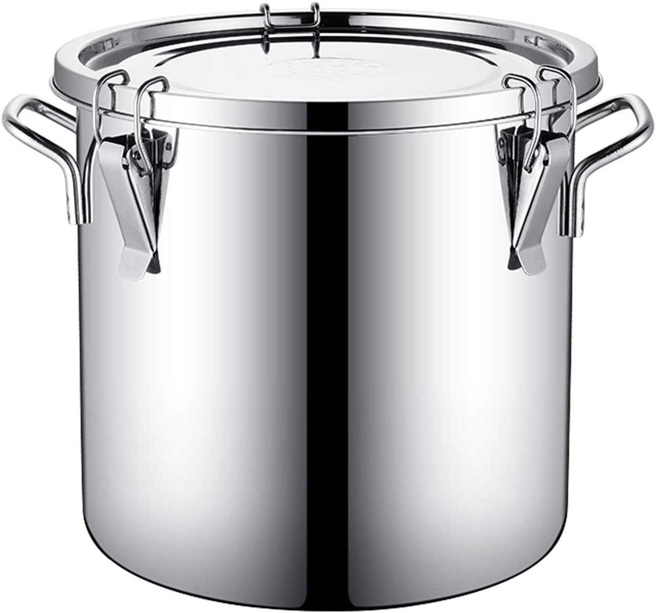 304 Stainless Steel Milk outlet Can with Storage Max 42% OFF Co Food Lids Bins Tote