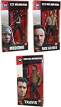 The Walking Dead Rick Grimes, Michonne, Travis Manawa 7-Inch Action Figures Set of 3