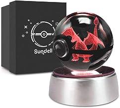 Geschenken voor Kerstmis, Sundell Unieke Verjaardagscadeaus voor kinderen, 3D Kristallen Ball met Discoloration Lamp Base,...