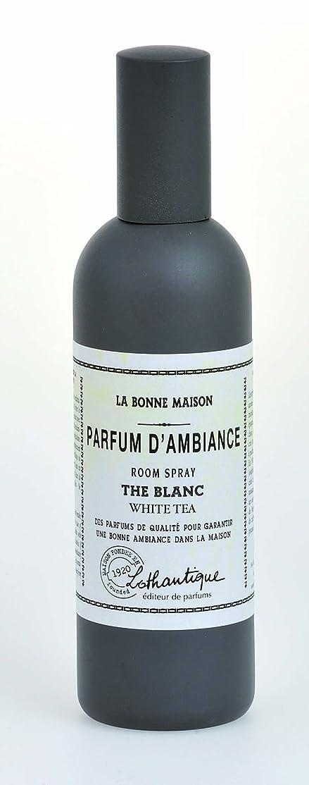 乱暴な撤回する例Lothantique(ロタンティック) LES Bonne Maison(ボンメゾンシリーズ) ルームスプレー 100ml 「ホワイトティー」 3420070039040