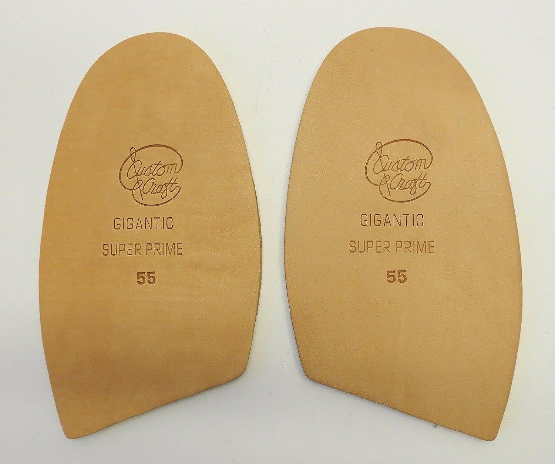 1 Pair of 5.5 Half Soles Repair New arrival Tan Shoe Boot Tooling gift Leather