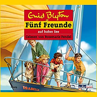Fünf Freunde auf hoher See (Fünf Freunde 54) Titelbild