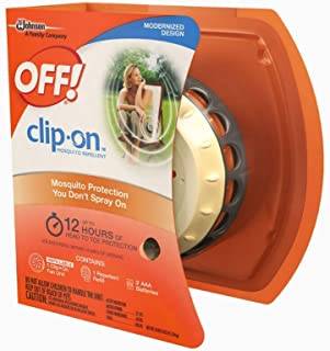 OFF! Clip On Mosquito Repellent Fan Unit 1 ea ( Pack of 2 )
