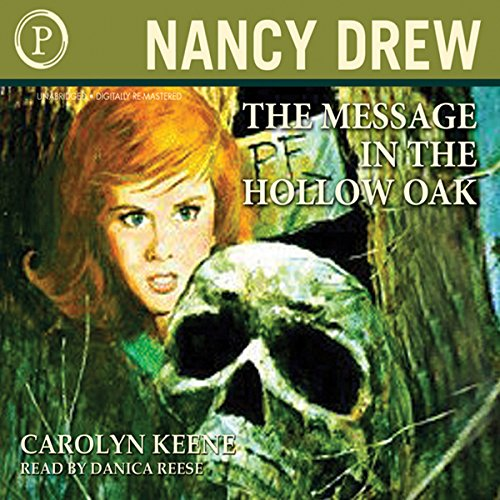 The Message in The Hollow Oak audiobook cover art