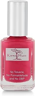 Karma Organic Natural Nail Polish-Non-Toxic Nail Art, Vegan and Cruelty-Free Nail Paint (Farmer's Market Berries)