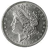 1881 P Morgan Silver Dollar $1 Brilliant...