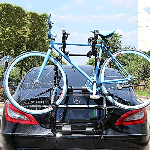 TINGYIN Anti-Off car Bike Rack, Rear Hanger, car Trunk, Carrying Frame, Hanger, SUV,Hang one