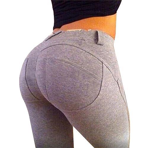 Moollyfox Donne Sport Gym Yoga Leggings Fitness Athletic Pants