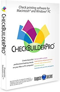 CheckBuilderPro3 - Windows & Mac Check Printing Software