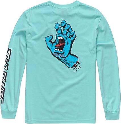 9d0baf2da Santa Cruz Mens Screaming Hand Regular Long-Sleeve Shirt