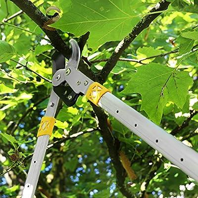 GRÜNTEK Telescopic ByPass Loppers Lopping shear XT 940 Smart-Cutting System.