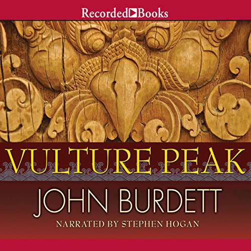 Vulture Peak audiobook cover art