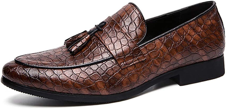 Business Casual shoes Large Size shoes Men's Pointed shoes Dress Men's shoes Microfiber Leather