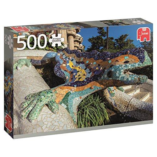 Jumbo- Parque Güell, Barcelona, Puzzle de 500 Piezas (618540)