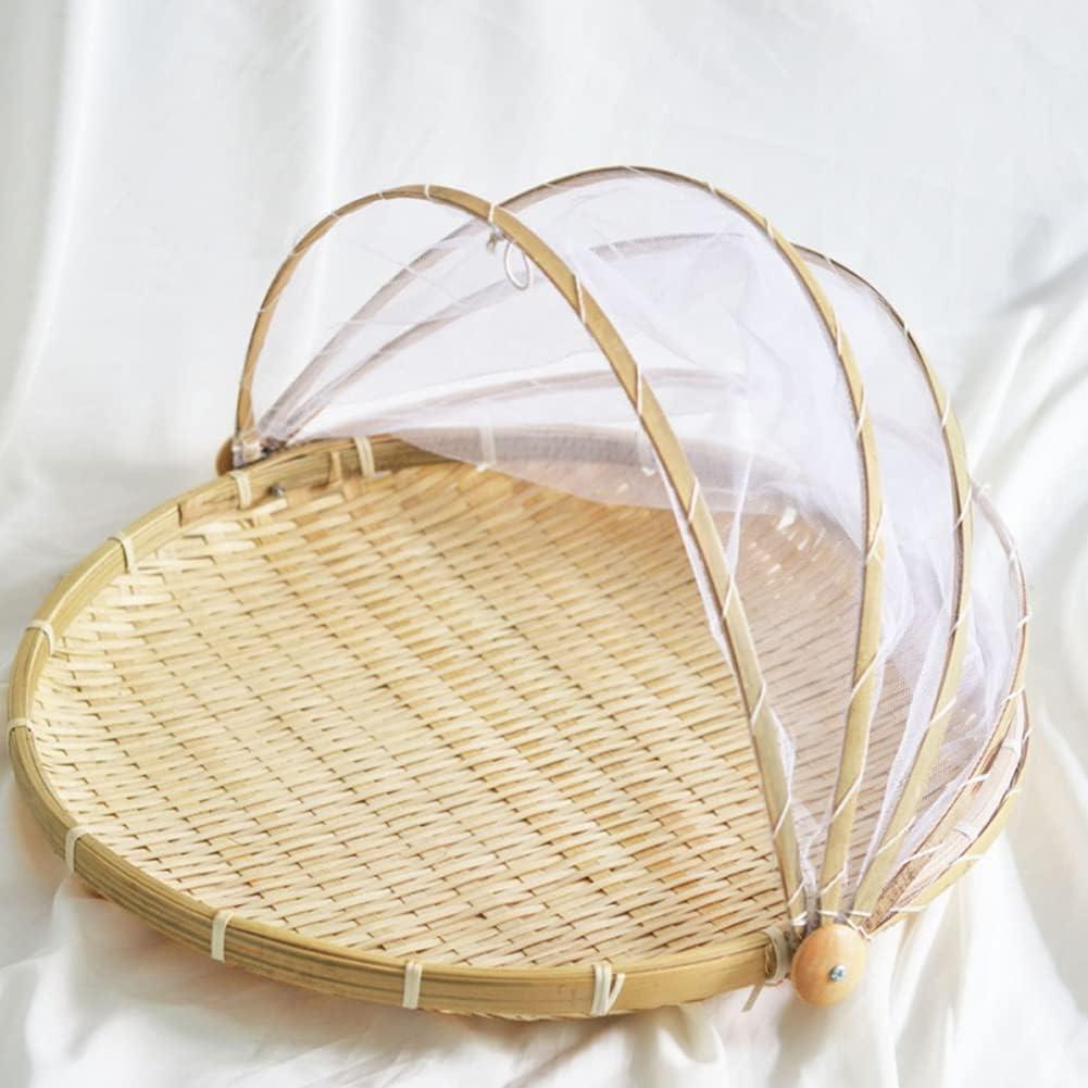 URMAGIC Kitchen Storage Virginia Beach Mall Basket with 16 Inch Dust-Proof Fo Gauze Low price