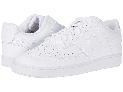 Nike Court Vision Lo (White/White/Black) Men