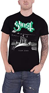 Ghost T Shirt Year Zero Band Logo Prequelle Official Mens Black