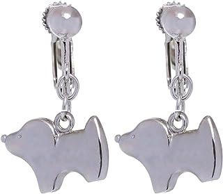 GrandUAE Women's Alloy Earring, Silver