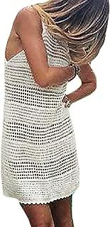 crochet swim cover up dress