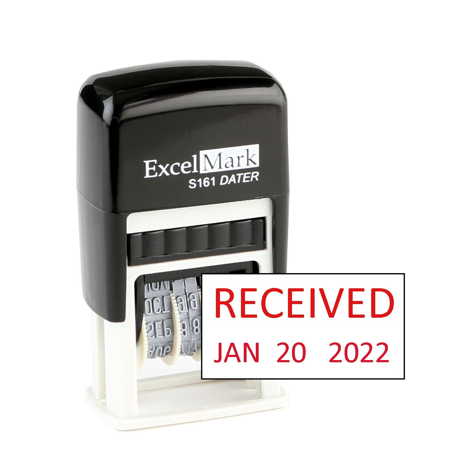Received ExcelMark Self Inking Rubber Compact