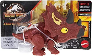 Jurassic World Camp Cretaceous Snap Squad Triceratops