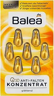 German Balea Anti wrinkle Concentrate with Q10 باليا الألمانية كبسولات سيروم ضد تجاعيد الوجه (21 ml (pack of 3) 2+1 OFFER)