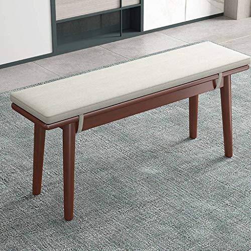 BLSTY Long Cushion, Soft Comfort Seat Cushion Detachable Chair Pads for Restaurant Long Stool Chair Cushion-B-30x140cm(12x55inch)