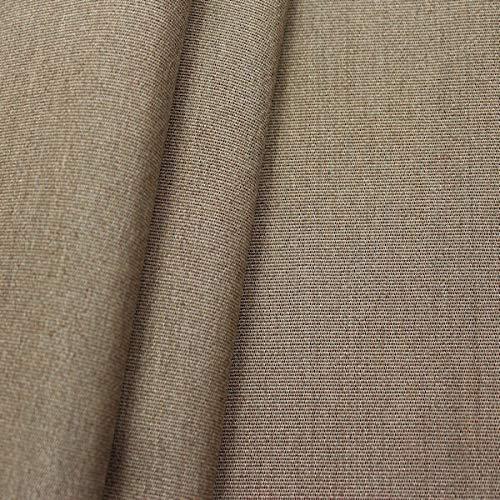 STOFFKONTOR Indoorstoff Outdoorstoff Agora - Meterware, Braun-Grau meliert - zum Nähen von Sonnenschutz, Gartenmöbel, Auflagen, Kissen UVM.