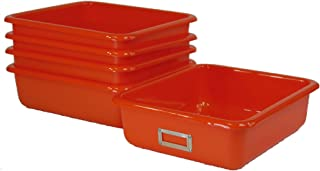 Tan Case Pack of 5 T 142-35 Lab Tray
