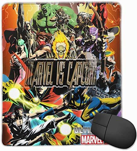 Marvel Vs Capcom 3 Ultimate MVC025 - Alfombrilla de ratón para ordenador portátil (tamaño pequeño), color blanco