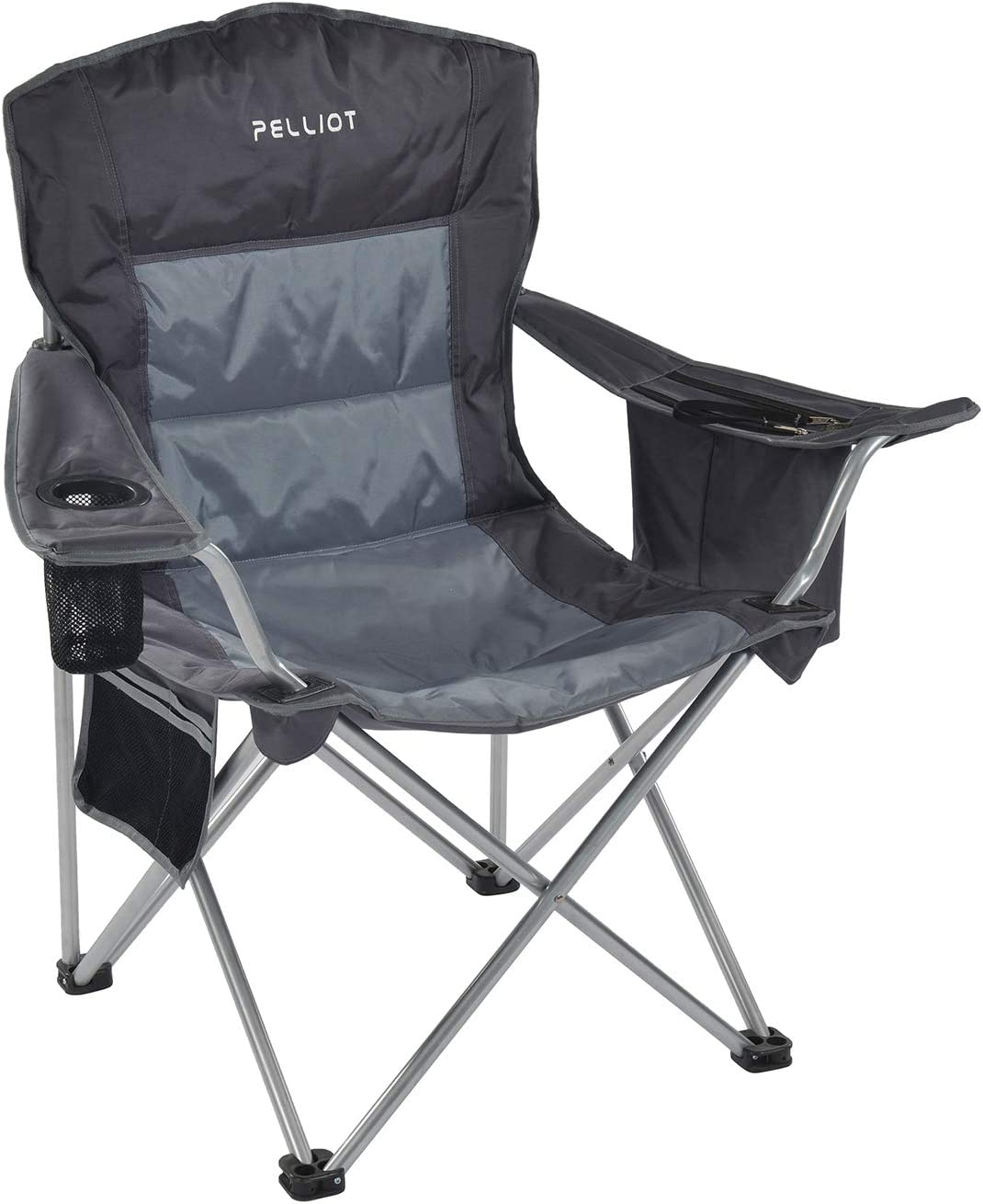 PELLIOT Direct stock discount Portable Camping Chair Max 46% OFF Heavy 3 Supports Lumbar Duty Back