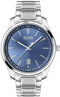 Hugo Boss Mens Quartz Watch, Analog Display and Stainless Steel Strap 1513731