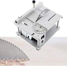 EnweKapu Sierra de Mesa Multifuncional 150W, Mini Cortadora Sierra de Escritorio, Máquina de Corte Eléctrica con Profundidad Corte 40 mm para Modelo Manual de Bricolaje