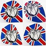 Union Jack / Bulldog Standard, Kite & pear shaped dart flights (Kite shape, 10 sets)