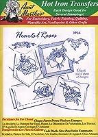 Hearts & Roses Aunt Martha's Hot Iron 刺繍転写