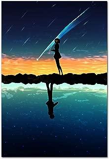 Printing Pira Poster - Kimi no Na Wa, Your Name Movie, Anime Official Art Poster (11x17)