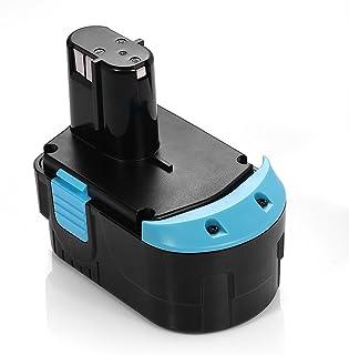 Powerextra 18V 3.0Ah EB1814S Hitachi Replacement Battery for Hitachi EB1812S EB1814SL EB1820L EB1824L EB1826HL EB1830HL C 18DL C 18DLX WR 18DMR WR18DL, Hitachi 18 volt Battery