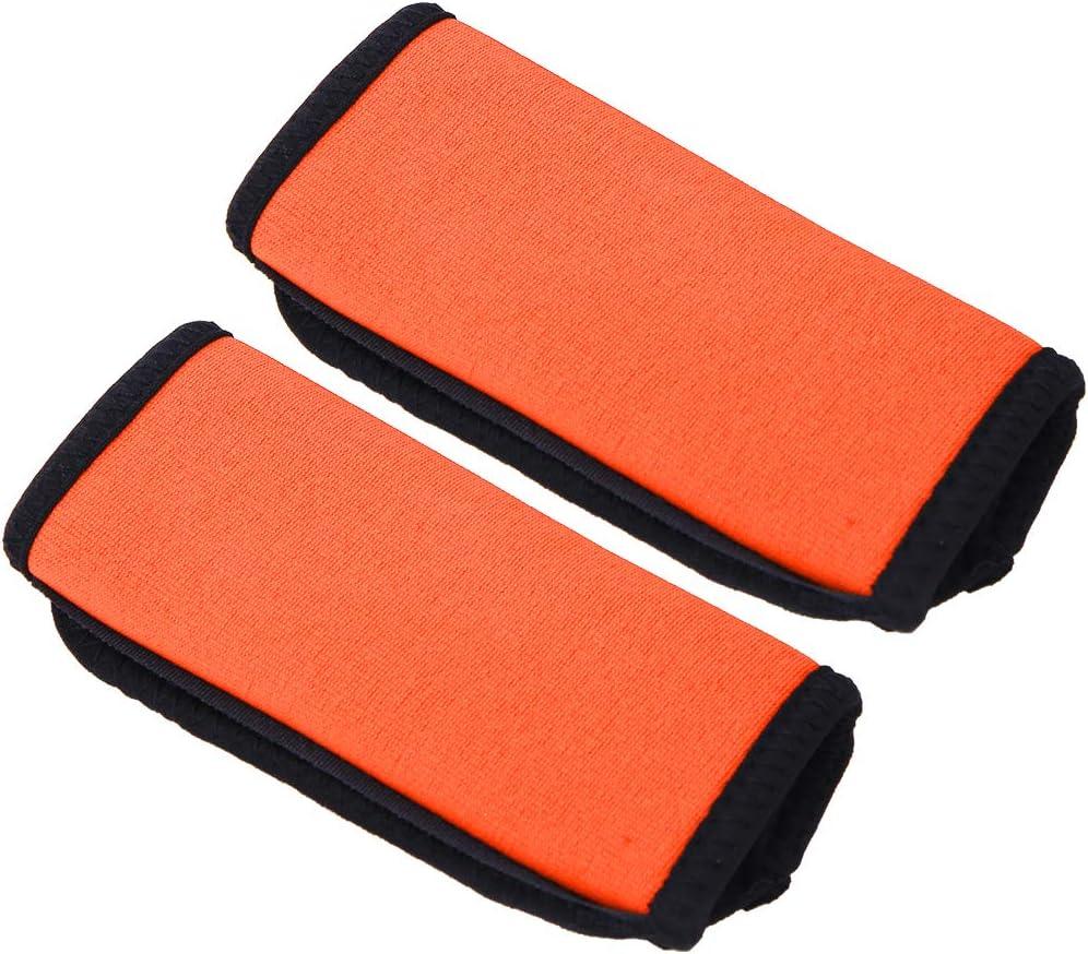 OhhGo 2PCS Neoprene Non-Slip Comfortable Soft Kayak Canoe Paddle Grips Kayak Boat Accessories/ï/¼/ˆRed