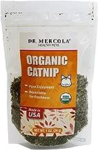 Dr. Mercola Certified Organic Catnip, 1 Bag (1oz), USDA Organic