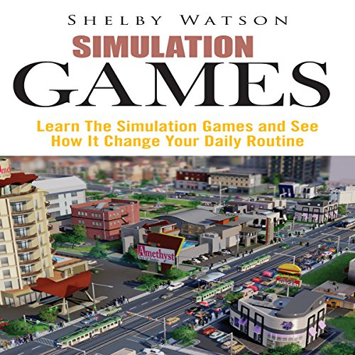 Simulation Games audiobook cover art