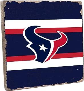 Rustic Marlin Designs NFL Unisex NFL Vintage Square Sign- Team Color