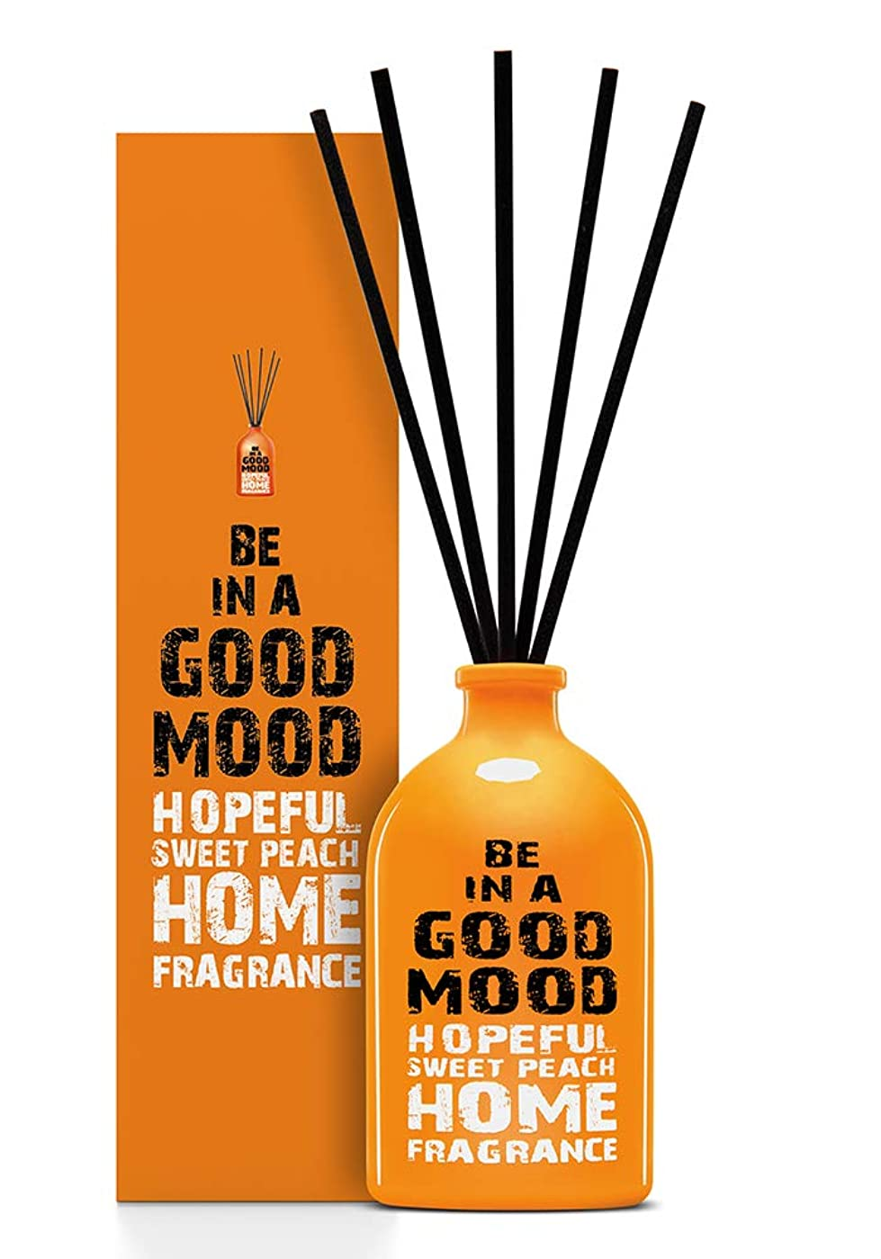 言語気分が悪い静かにBE IN A GOOD MOOD ルームフレグランス スティック タイプ SWEET PEACHの香り (100ml)