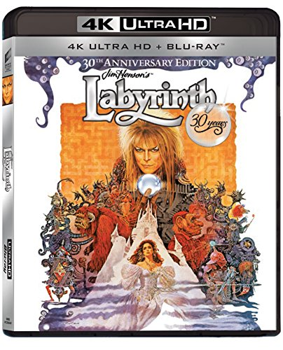 Labyrinth 30th Anniversary (2 Disc 4K Ultra HD and Blu-ray) [Region Free] [Blu-ray]