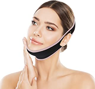 OUTERDO Facial Slimming Strap, Pain-Free Face-Lifting Bandage -V Line Lifting Chin Strap for Women Eliminates Sagging Skin Lifting Firming Anti Aging
