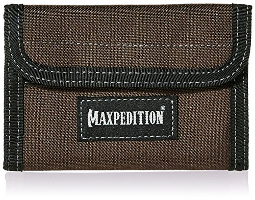 Maxpedition 0229BR Pochette Unisexe en Nylon Noir/Marron