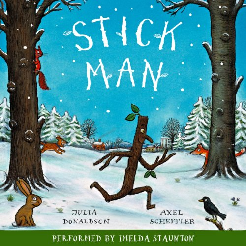 Stick Man audiobook cover art