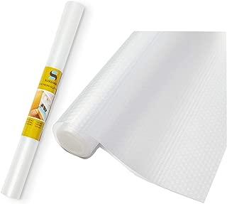 Shelf Liner - Heavy Duty Non-Slip Shelf Liner - Ethylene Vinyl Acetate (EVA) Material, BPA-Free Plastic - Mildewproof, Waterproof, Oilproof - Easy To Clean, Wash, Care - Cut Into Different Sizes
