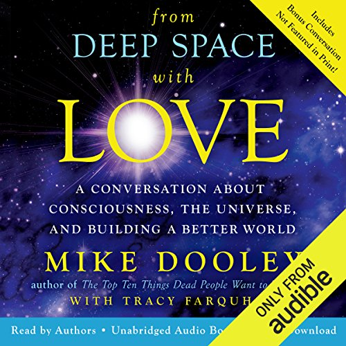 From Deep Space with Love audiobook cover art