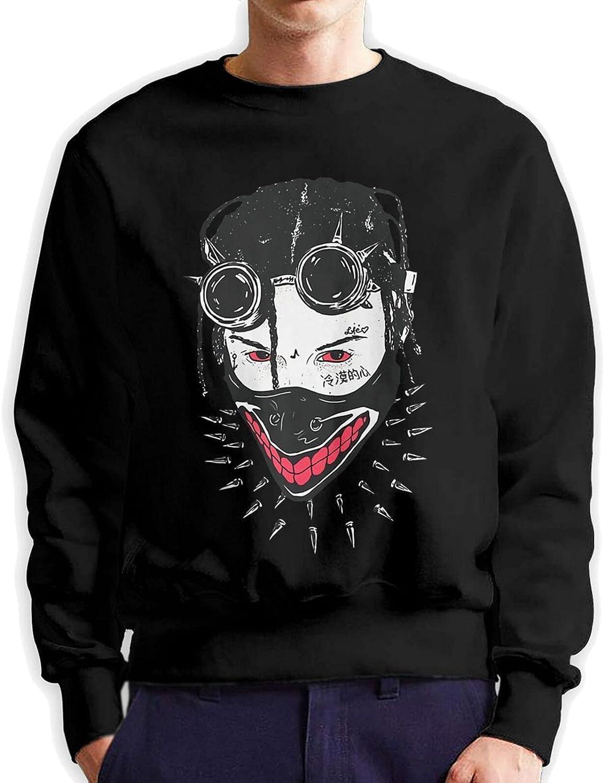 Autumn Winter Fashion Men's Round Challenge the lowest price 3D Neck Cotton Phoenix Mall Printin Sweater
