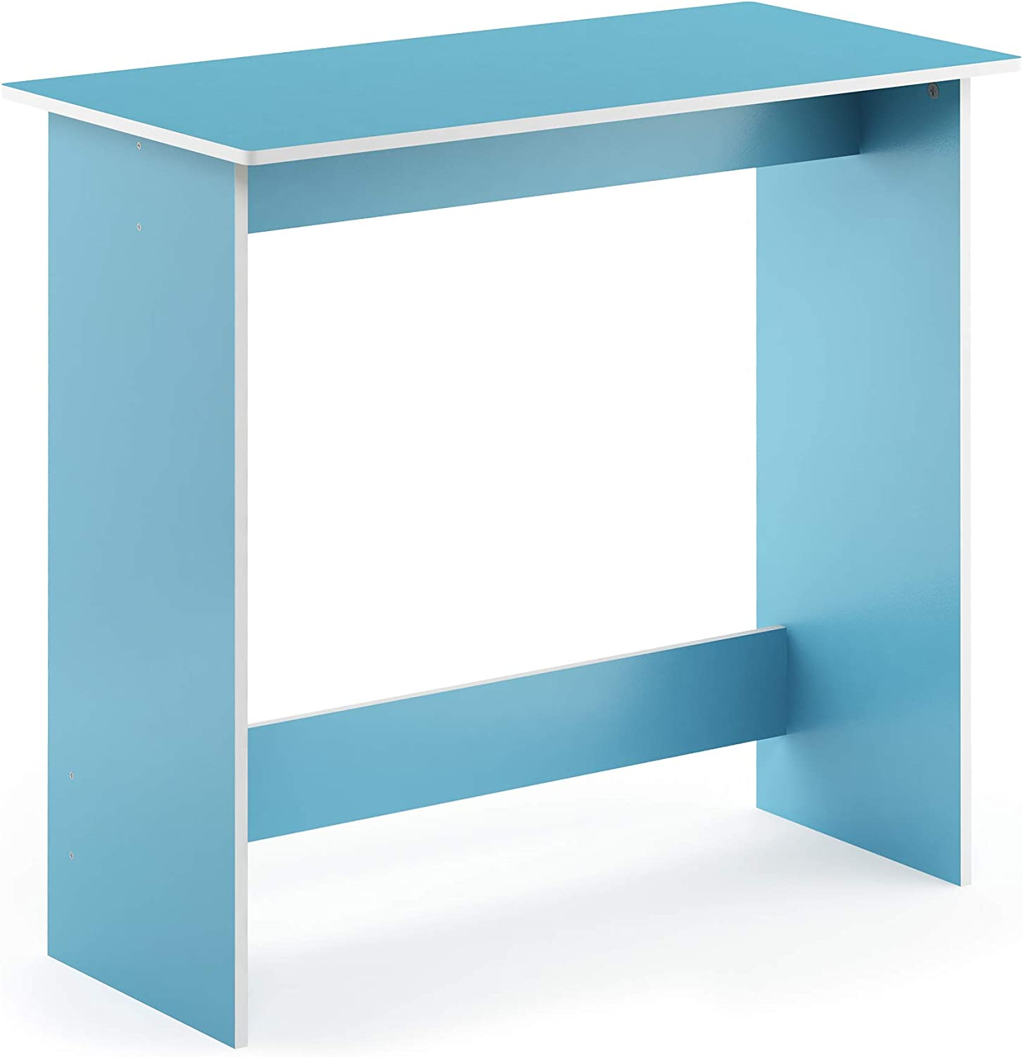 Furinno 14035LBL Simplistic Study Table, Light bluee
